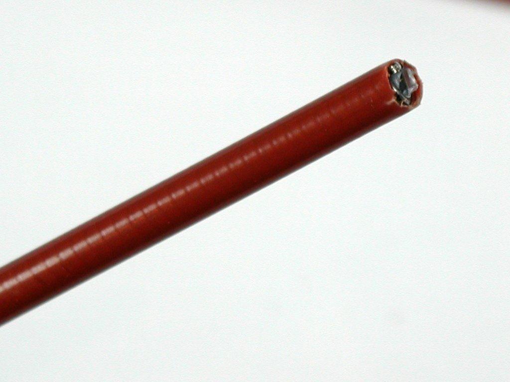 1 Meter Bremshülle,Bowdenzughülle Braun für Bremszug 5mm
