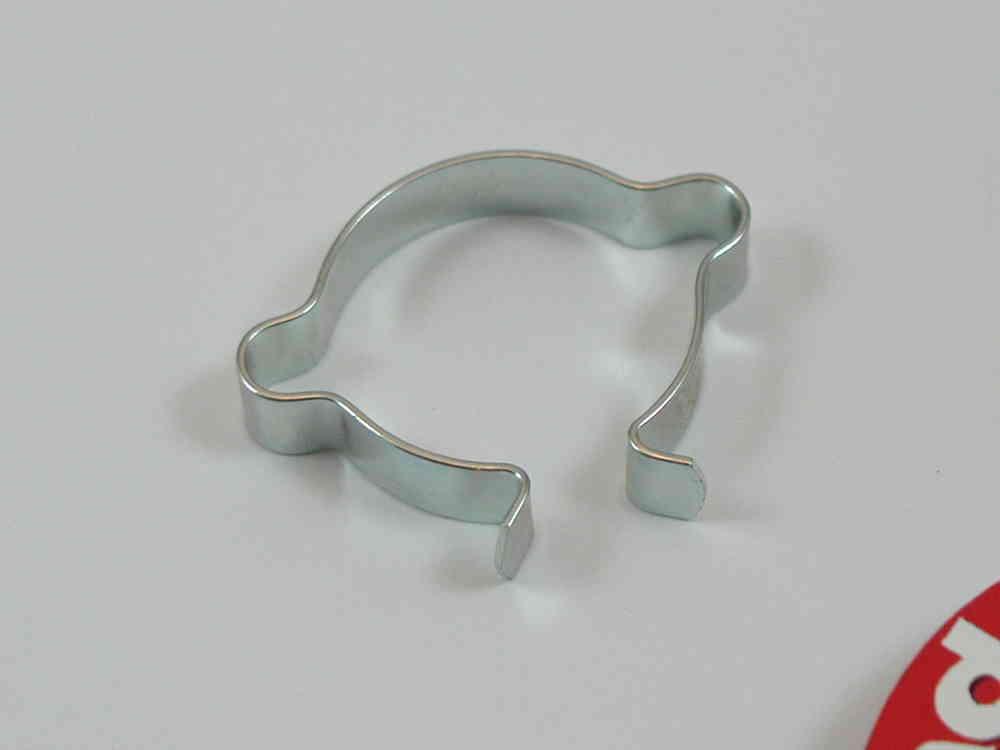 Kabelklemme Stahl zum Aufclipsen für 2 Kabel