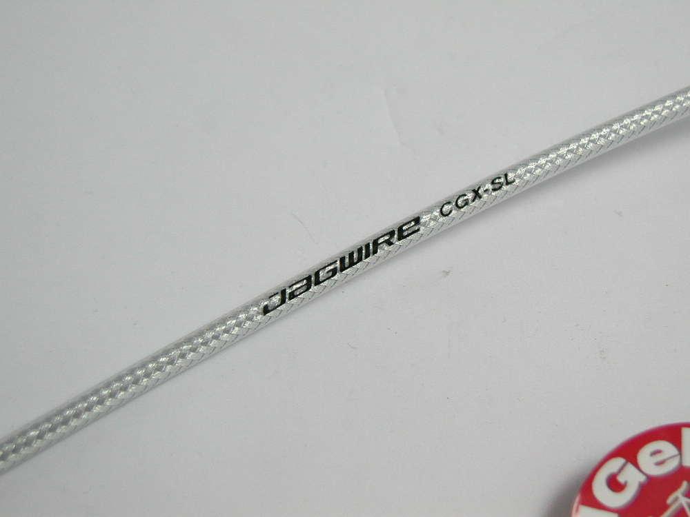 1 Meter Bremshülle YPK Jagwire silber geflochten 5mm Bowdenzughülle