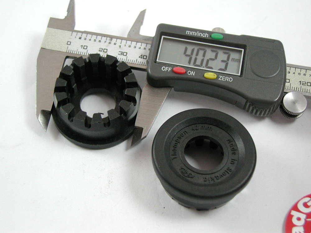 2x Lagerschale Thompson 40mm für Einpreßlager Kinex